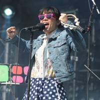 Little Dragon performs at Lovebox 2012