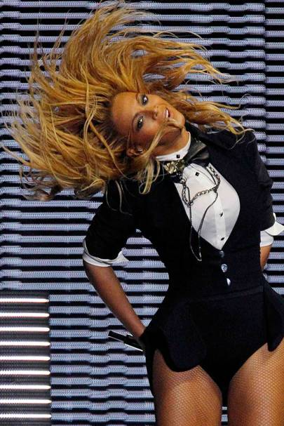 DO #12: Beyonce's hair-whipping style - May