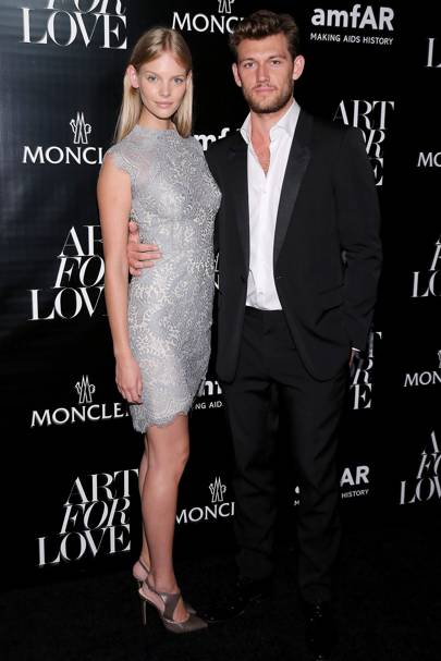 March: Alex Pettyfer and Marloes Horst
