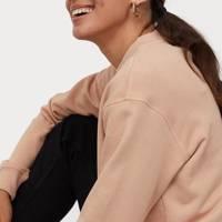 The cotton-blend sweatshirt