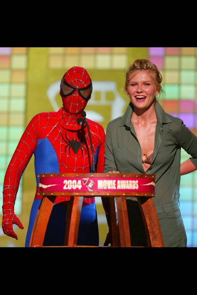 Ellen DeGeneres in Spider-Man costume
