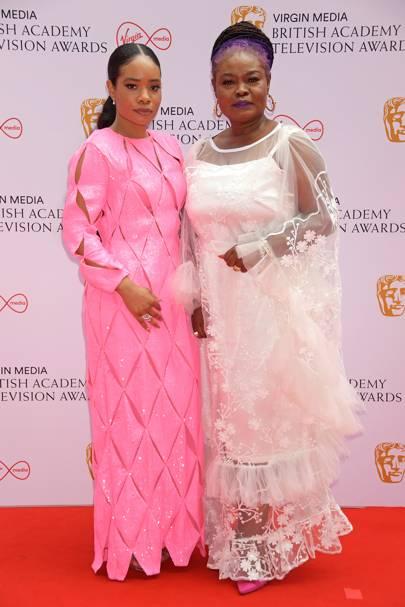 BAFTA TV Red Carpet: Weruche Opia and Ruth Benamaisia