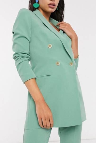 The colour-pop blazer