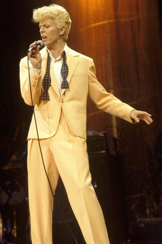 Bowie bow tie cinema