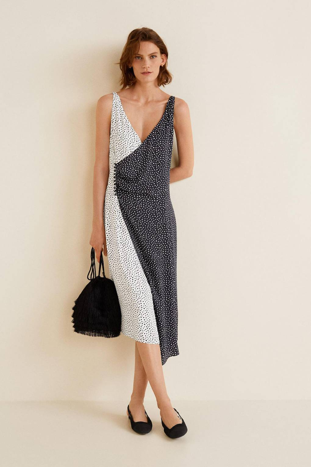 409121fc91 Mango Just Dropped The Perfect Office Dress For This Weather ...
