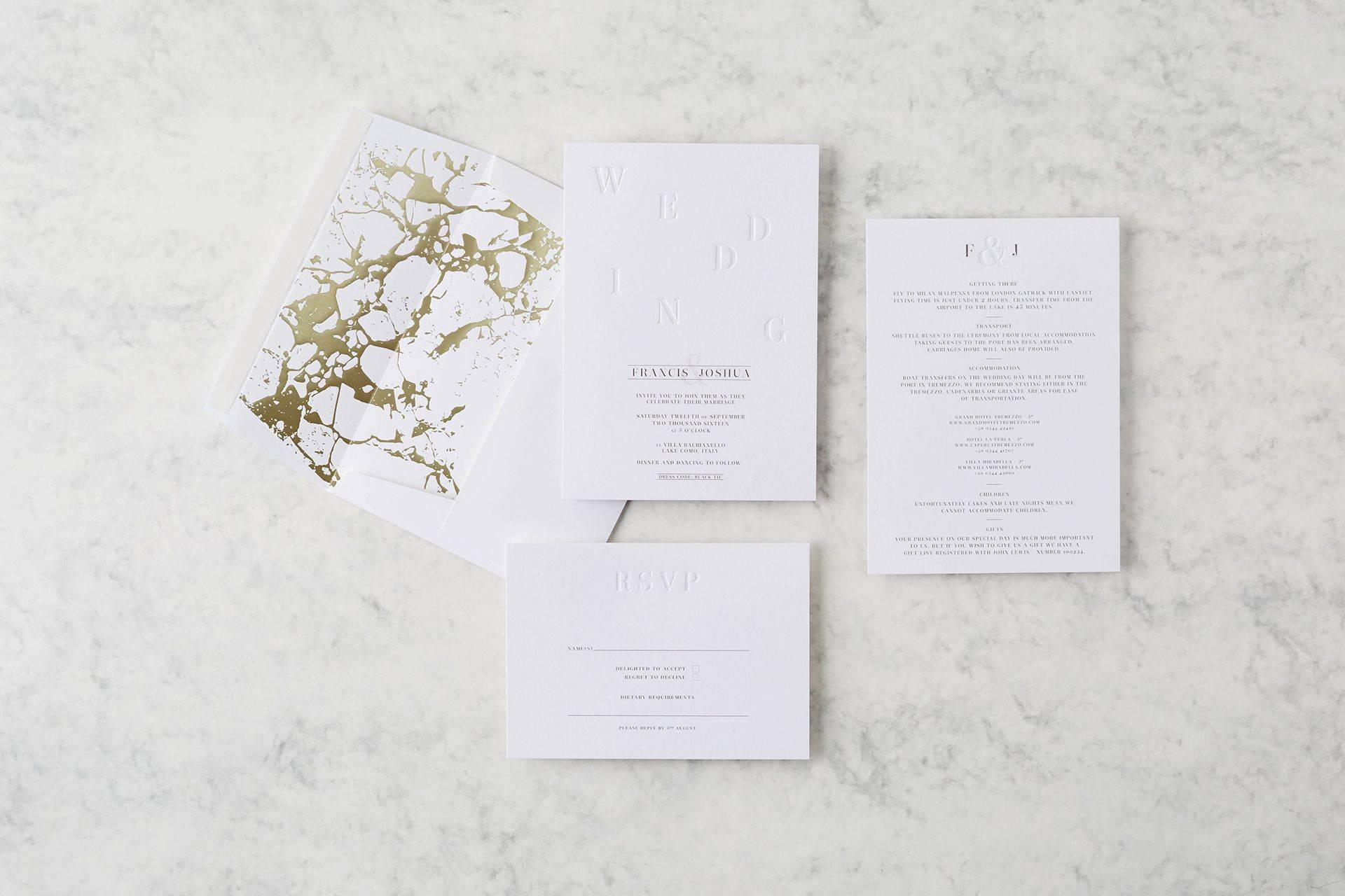 Wedding Stationery 2017: Best Invitations, Save The Date & Thank You ...