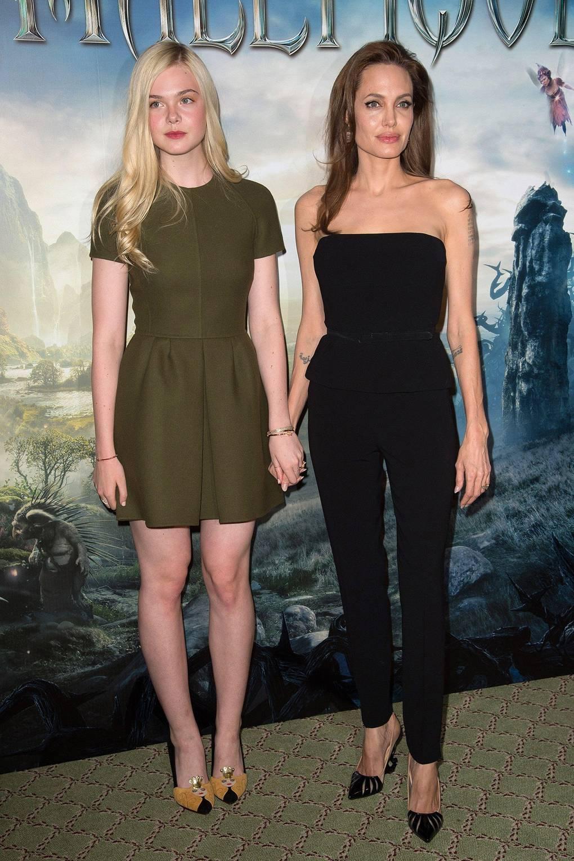 Maleficent Trailer Brad Pitt Angelina Jolie Elle