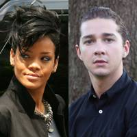 Rihanna and Shia LaBeouf
