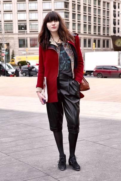 Natalie Suarez, Blogger 'Natalie Off Duty', New York
