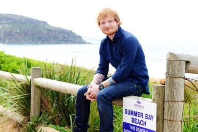 Ed Sheeran in Home and Away