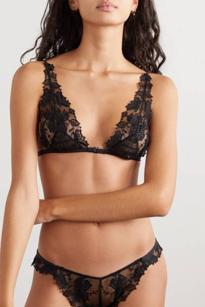 Best sexy lingerie: the triangle bra