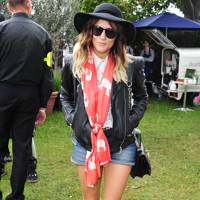 Caroline Flack at the Unwind Lounge at Barlcaycard Wireless