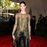 Hilary Rhoda at the Met Gala