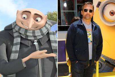 Steve Carell as Gru in Despicable Me