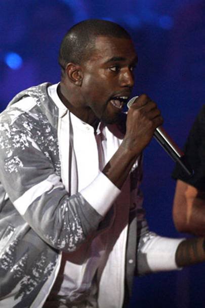 5. Kanye West's protests against losing