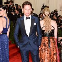 Eddie Redmayne at the Met Gala