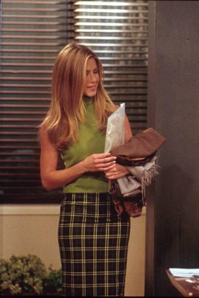 Rachel in business mode