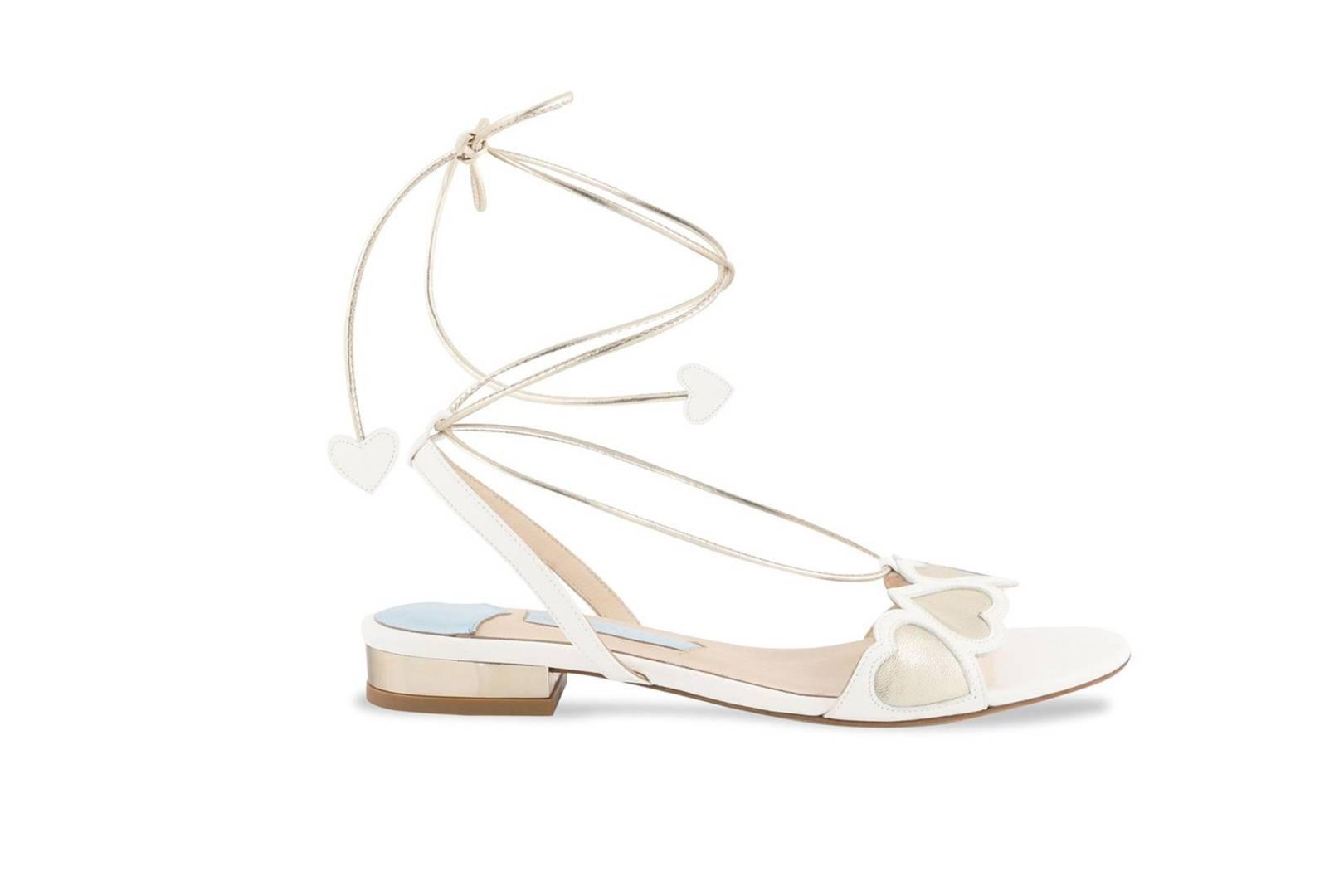 64f51a16c77b5a The Most Beautiful Flat Wedding Shoes