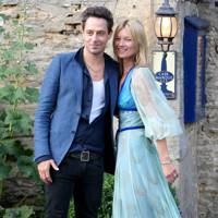 Kate Moss and Jamie Hince at their wedding rehearsal dinner