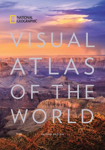 National Geographic's Visual Atlas of the World Book