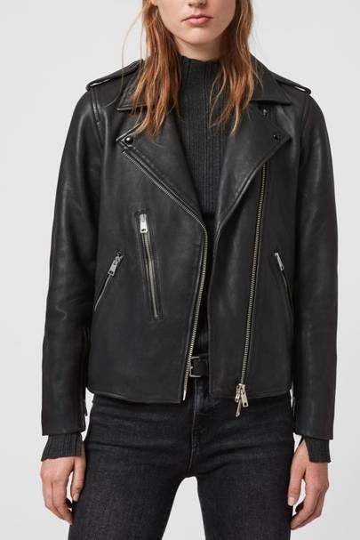 Leather coats: the biker jacket
