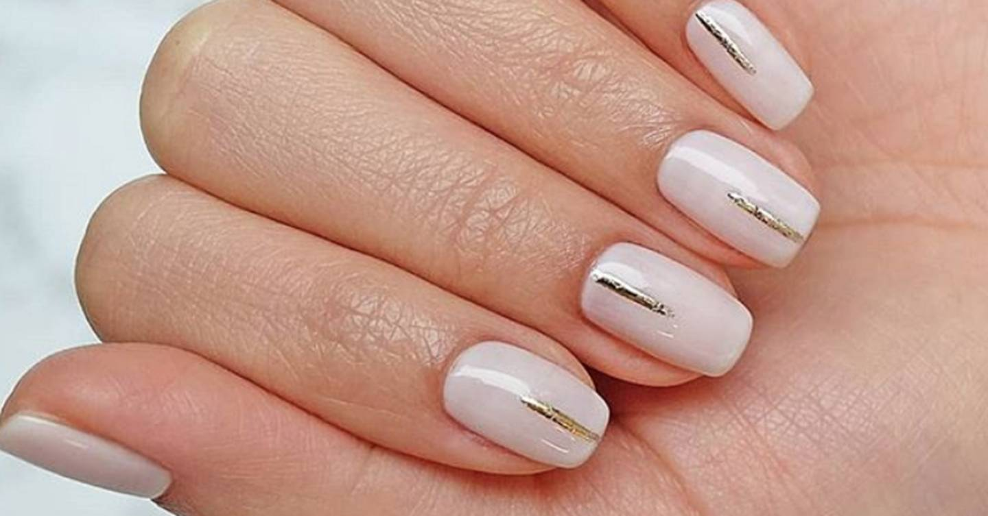 These simple nail art designs are perfect for an easy, at-home manicure