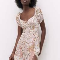 ZARA SUMMER SALE: PATCHWORK DRESS