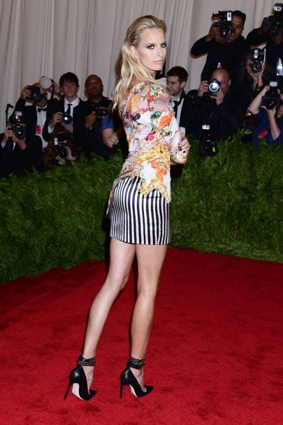 Karolina Kurkova at the Met Gala