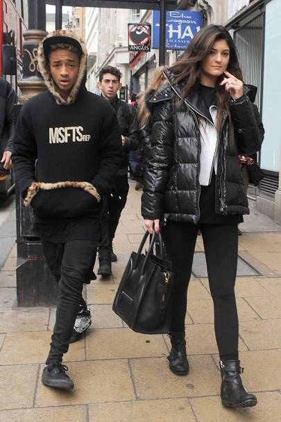 Bieber dating kylie jenner