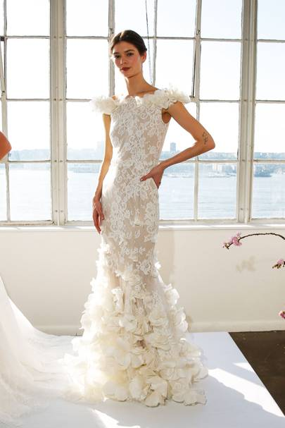 Meghan markles wedding dress which designer will she choose this marchesa wedding dress would be stunning on meghan though we predict it would be too busy junglespirit