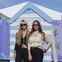 The Pierces at the Isle Of Wight Festival