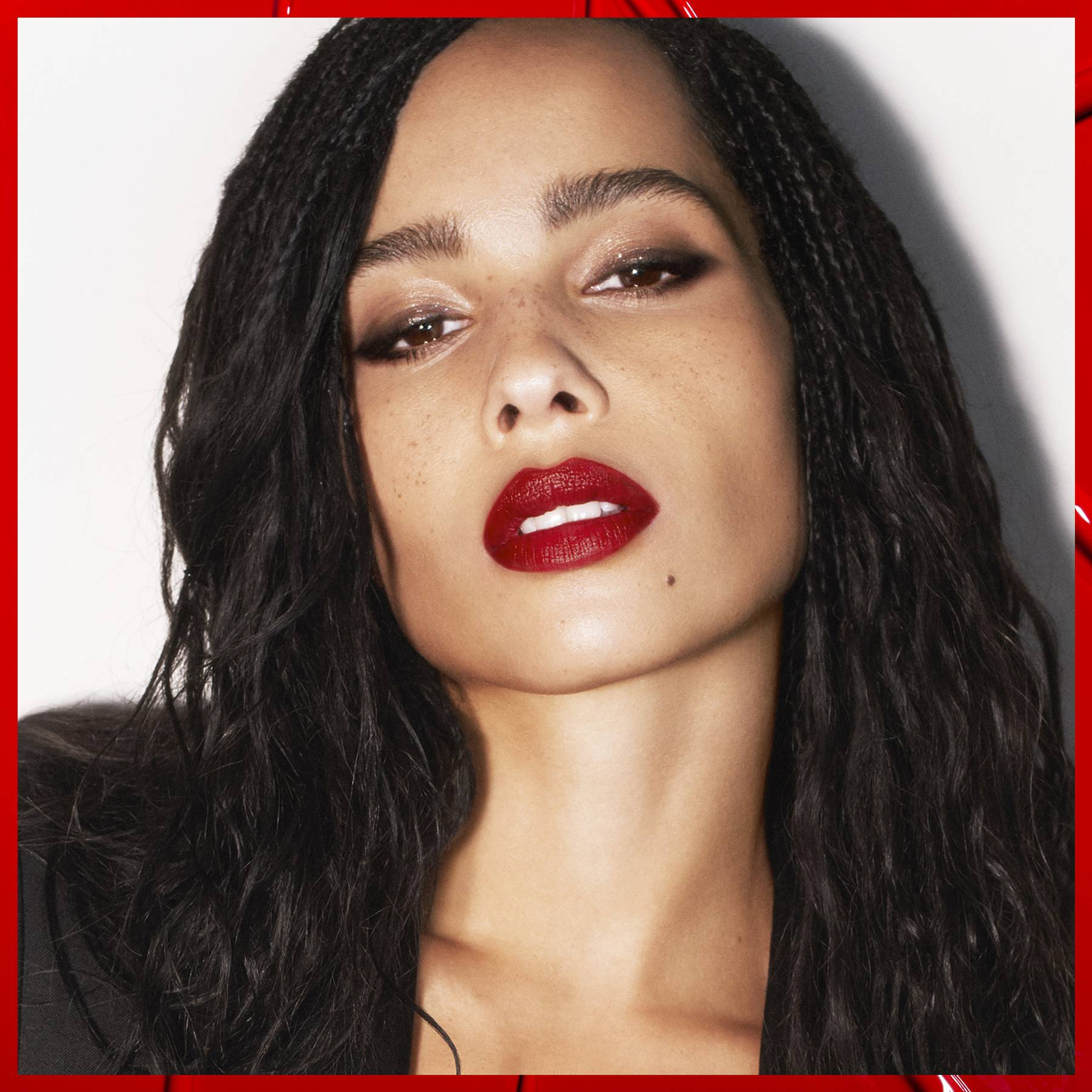 Zoë Kravitz has created a lipstick collection with YSL and it is the coolest range ever