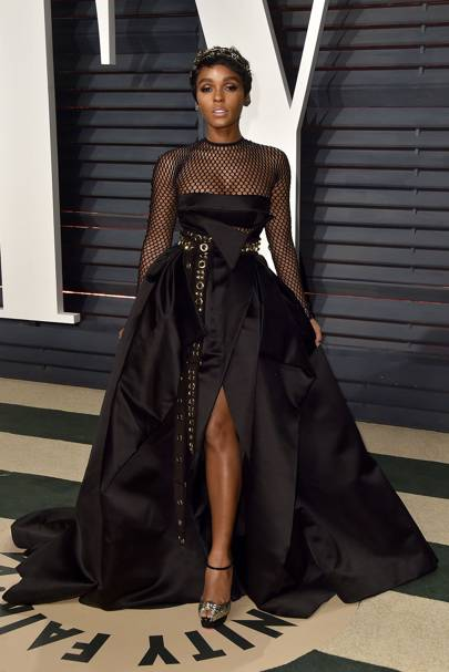 Janelle Monáe at the Vanity Fair after-party