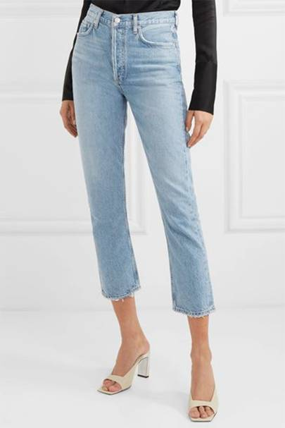 Best cropped mom jeans