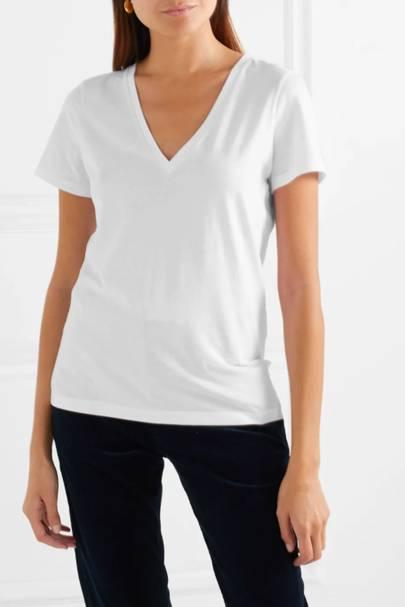Best V neck t-shirts: Ninety Percent