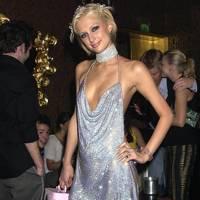 Paris Hilton at her 21st birthday in 2002