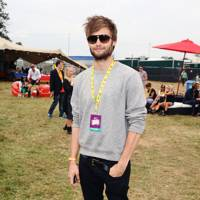 Douglas Booth at V Festival