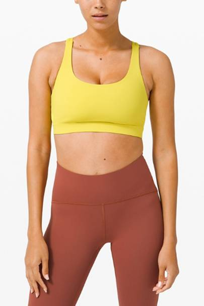 Best workout clothes: the medium support sports bra