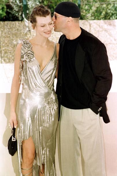Milla Jovovich - Cannes 1997