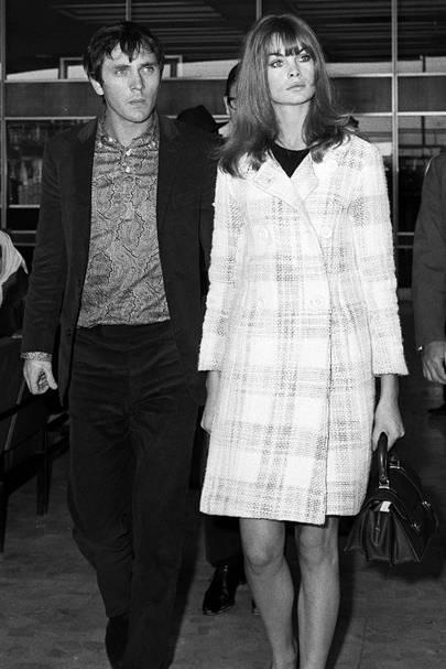Jean Shrimpton & Terence Stamp