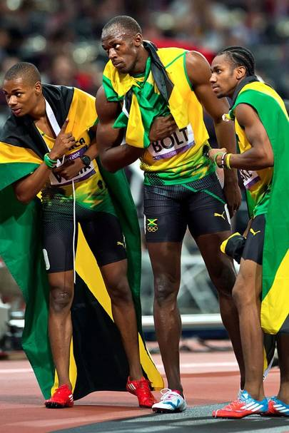 Jamaican Sprint Team