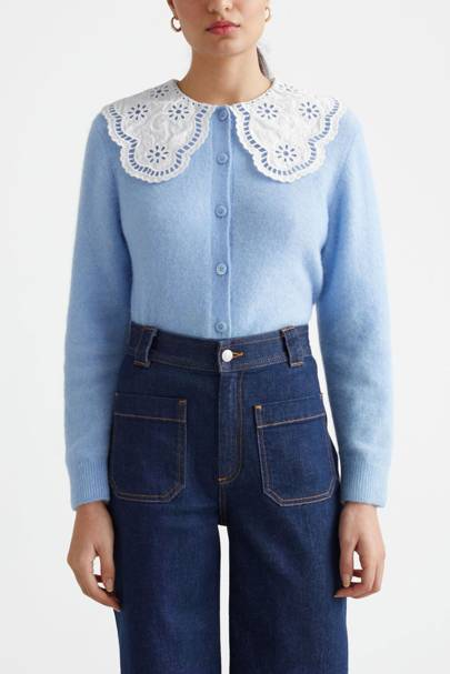 & Other Stories Sale Cardigan with Collar