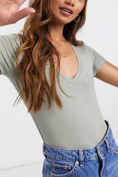 Best V neck t-shirts: ASOS