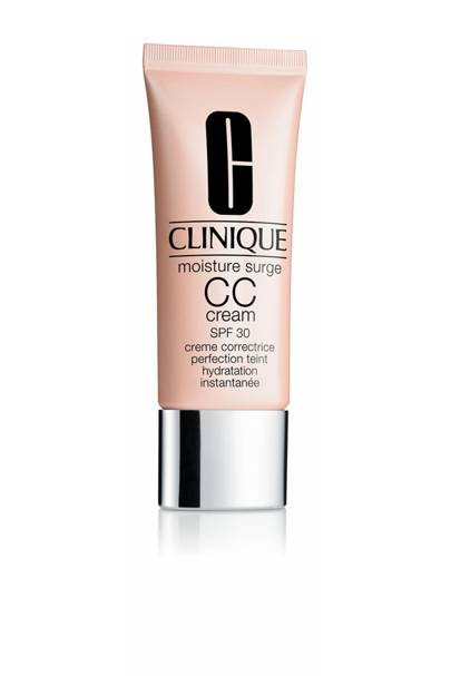 The moisturising CC cream