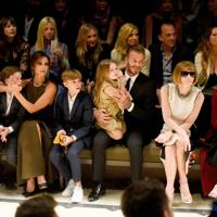 The Beckhams and Anna Wintour