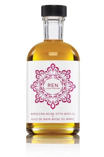 REN Moroccan Rose Otto Bath Oil, £30 for 100ml
