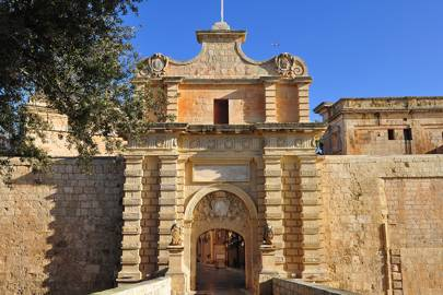 Malta: Mdina Gate, Mdina