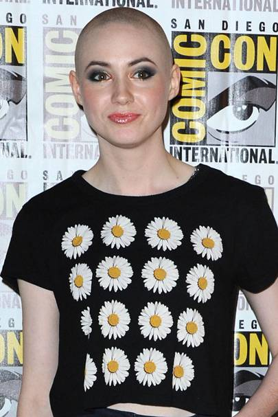 Karen Gillan's close shave
