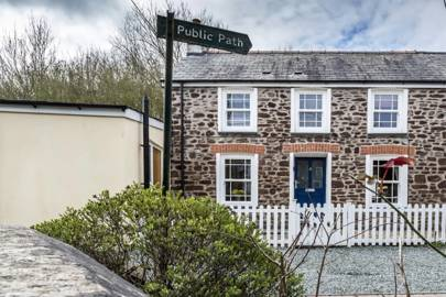 Best Airbnbs in Wales: the townhouse
