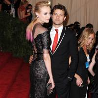 Diane Kruger & Joshua Jackson at the Met Gala